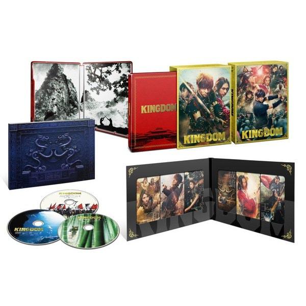 【ヨドバシ限定】キングダム ブルーレイ&DVDセット プレミアム・エディション 初回生産限定 (ポストカード10枚セット付) [Blu-ray Disc]