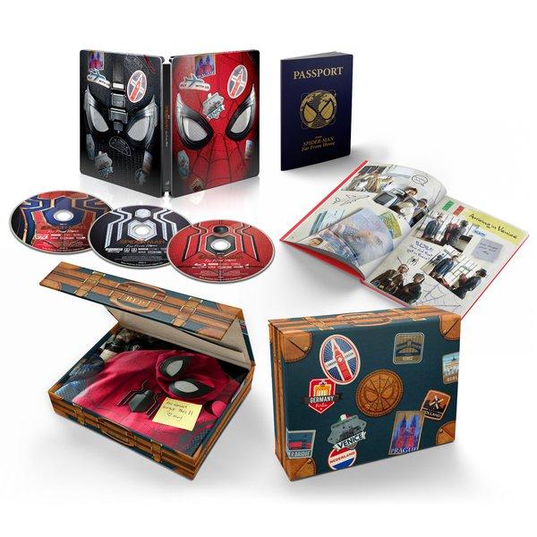 スパイダーマン:ファー・フロム・ホーム 日本限定プレミアム・スチールブック・エディション [Blu-ray Disc]