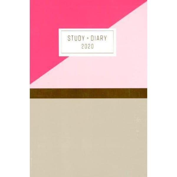 可愛く計画的に勉強がつづく手帳STUDY+DIARY 2020 [単行本]