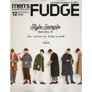 men's FUDGE (メンズ・ファッジ) 2019年 12月号 [雑誌]