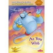 """Read Disney in Englishえいごでよむディズニーえほん〈5〉アラジン""""As You Wish""""―朗読QRコード付き [絵本]"""