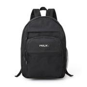 mini特別編集 MILKFED. SPECIAL BOOK Big Pocket Backpack #BLACK [ムックその他]