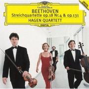 ベートーヴェン:弦楽四重奏曲第4番・第14番