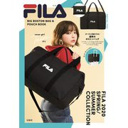 FILA BIG BOSTON BAG & POUCH BOOK [ムックその他]
