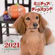 2021年 大判カレンダー ミニチュア・ダックスフンド(誠文堂新光社カレンダー) [ムックその他]