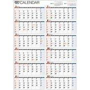 2021年 書き込み式1年カレンダー A2【K15】 [単行本]