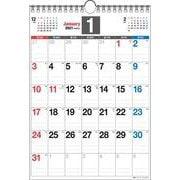 2021年 書き込み式シンプルカレンダー A4タテ【K17】 [単行本]