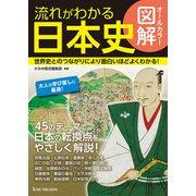 オールカラー図解 流れがわかる日本史 [単行本]