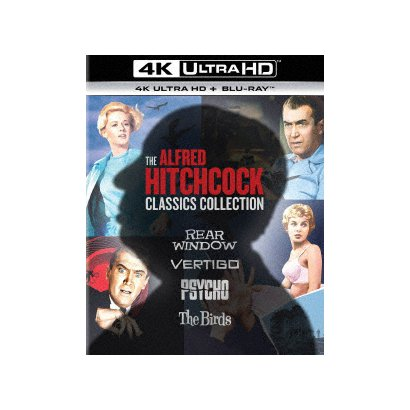 アルフレッド・ヒッチコック クラシックス・コレクション [UltraHD Blu-ray]