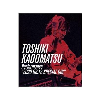 "角松敏生/TOSHIKI KADOMATSU Performance ""2020.08.12 SPECIAL GIG"" [Blu-ray Disc]"