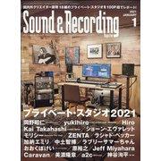 Sound & Recording Magazine (サウンド アンド レコーディング マガジン) 2021年 01月号 [雑誌]