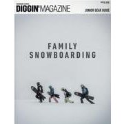 DIGGIN' MAGAZINE SPECIAL ISSUE FAMILY SNOWBOARDING(サンエイムック) [ムックその他]