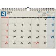 U136 NOLTY カレンダー壁掛け36 [2021年4月始まり]