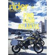 rider 2021年 05月号 [雑誌]