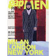 gap press MEN vol.63 2021-22 A/W (MILAN/LONDON/NY)<63> [単行本]