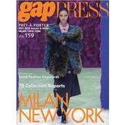 gap PRESS vol.159 MILAN/NY<159> [単行本]