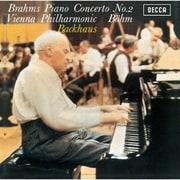 ブラームス:ピアノ協奏曲第2番 モーツァルト:ピアノ協奏曲第27番