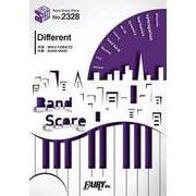 BP2328 バンドスコアピース Different /BAND-MAID [ムックその他]