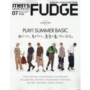 men's FUDGE (メンズ・ファッジ) 2021年 07月号 [雑誌]