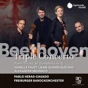 ベートーヴェン:三重協奏曲、交響曲第2番(ピアノ三重奏曲版)