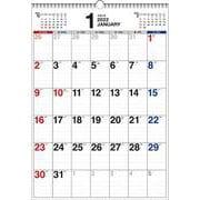 2022年 書き込み式シンプルカレンダー B3タテ 【K11】 [単行本]