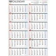 2022年 書き込み式 1年カレンダー A2 【K15】 [単行本]
