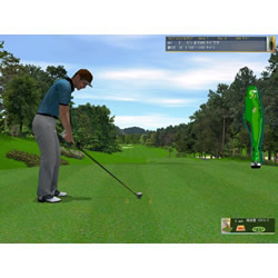 リアルシミュレーション 嵐山ゴルフ倶楽部
