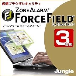 ZoneAlarm ForceField 3台用 [ダウンロードソフトウェア Win専用]