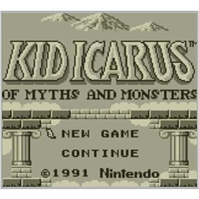 KID ICARUS: OF MYTHS AND MONSTERS <ゲームボーイ> [3DSソフト ダウンロード版 Virtual Console(バーチャルコンソール)]