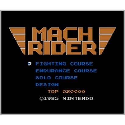 マッハライダー <ファミリーコンピュータ> [3DSソフト ダウンロード版 Virtual Console(バーチャルコンソール)]