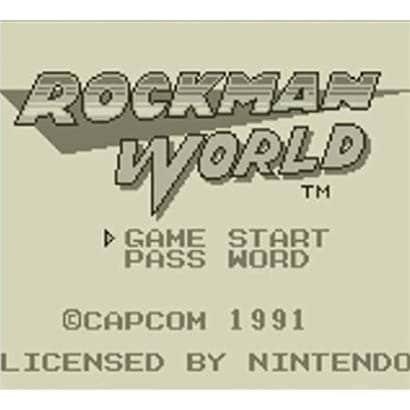 ロックマンワールド <ゲームボーイ> [3DSソフト ダウンロード版 Virtual Console(バーチャルコンソール)]