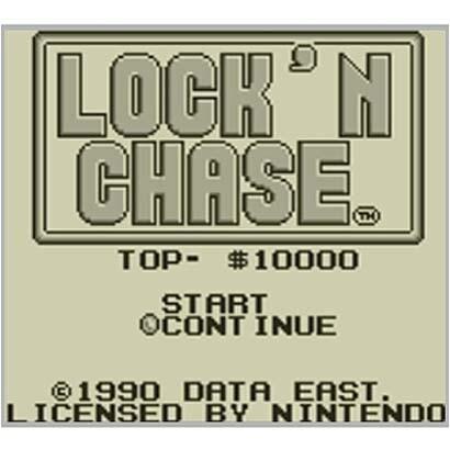 ロックンチェイス <ゲームボーイ> [3DSソフト ダウンロード版 Virtual Console(バーチャルコンソール)]