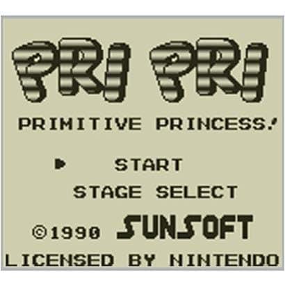 プリプリ PRIMITIVE PRINCESS! <ゲームボーイ> [3DSソフト ダウンロード版 Virtual Console(バーチャルコンソール)]