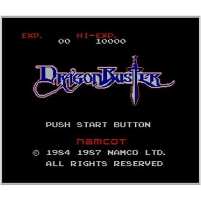ドラゴンバスター <ファミリーコンピュータ> [3DSソフト ダウンロード版 Virtual Console(バーチャルコンソール)]