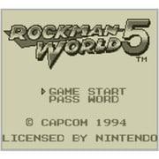 ロックマンワールド5 <ゲームボーイ> [3DSソフト ダウンロード版 Virtual Console(バーチャルコンソール)]