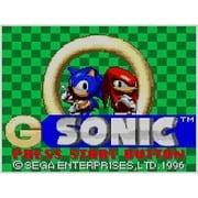 Gソニック <ゲームギア> [3DSソフト ダウンロード版 Virtual Console(バーチャルコンソール)]