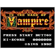 IN THE WAKE OF VAMPIRE <ゲームギア> [3DSソフト ダウンロード版 Virtual Console(バーチャルコンソール)]