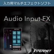 Audio Input FX [Windowsソフト ダウンロード版]