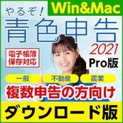 やるぞ!青色申告2021  業務用Pro 10件登録版 for Hybrid [Windows&Macソフト ダウンロード版]