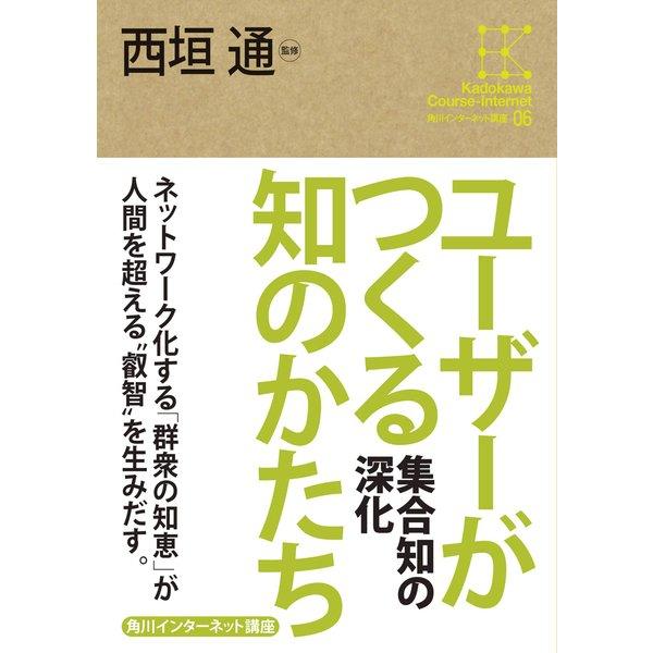 角川インターネット講座6 ユーザーがつくる知のかたち 集合知の深化(KADOKAWA) [電子書籍]