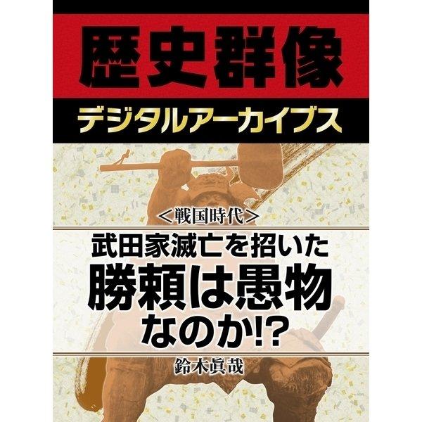 <戦国時代>武田家滅亡を招いた勝頼は愚物なのか!?(学研) [電子書籍]