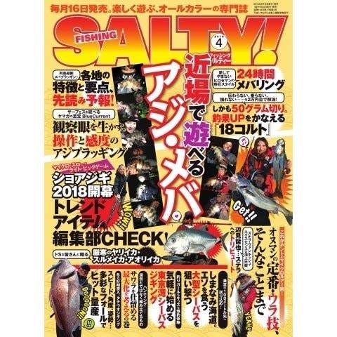 SALTY!(ソルティー) 2018年4月号(アトリエ・ボイル) [電子書籍]