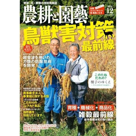 農耕と園芸 2018年12月号(誠文堂新光社) [電子書籍]