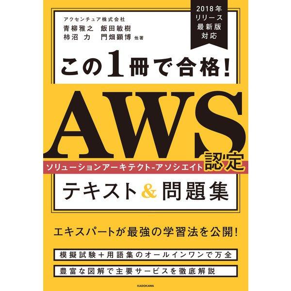 この1冊で合格! AWS認定ソリューションアーキテクト - アソシエイト テキスト&問題集(KADOKAWA) [電子書籍]