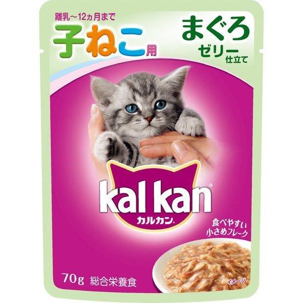 マース ジャパン リミテッド カルカン KWP71 カルカンウィスカス味わいセレクト12ヶ月までの子猫用まぐろ70g キャットフード ウェット [32個入り]