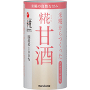 マルコメ プラス糀 米糀からつくった甘酒 125ml×18 [飲料]