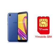 ワイモバイル×SIMフリースマホ セットキャンペーン [ASUS エイスース ZA550KL-BL32 「Zenfone Live L1 Series SIMフリースマートフォン スペースブルー」 と Y!mobile nano SIMのセット(要回線契約)]