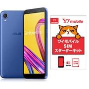 ワイモバイルセットでお得キャンペーン [ASUS エイスース ZA550KL-BL32 「Zenfone Live L1 Series SIMフリースマートフォン スペースブルー」 とY!mobile「nano SIM スターターキット」のセット]