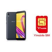 ワイモバイル×SIMフリースマホ セットキャンペーン [ASUS エイスース ZA550KL-BK32 「Zenfone Live L1 Series SIMフリースマートフォン ミッドナイトブラック」 と Y!mobile nano SIMのセット(要回線契約)]