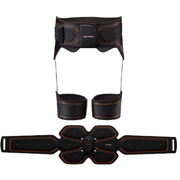 MTG エムティージー 【セットでお得】SIXPAD アブズベルト(LL/3L)&ボトム(L)セット [Abs Belt (LL/3L) +Bottom Belt L]